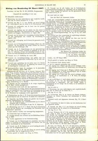 Handelingen van de Raad 1907-03-28