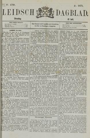 Leidsch Dagblad 1875-07-13