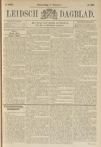 Leidsch Dagblad 1893-03-07