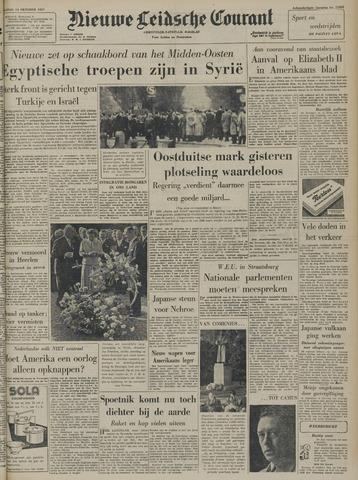 Nieuwe Leidsche Courant 1957-10-14