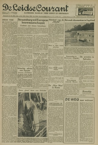 Leidse Courant 1952-09-27