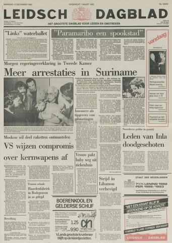 Leidsch Dagblad 1982-12-13