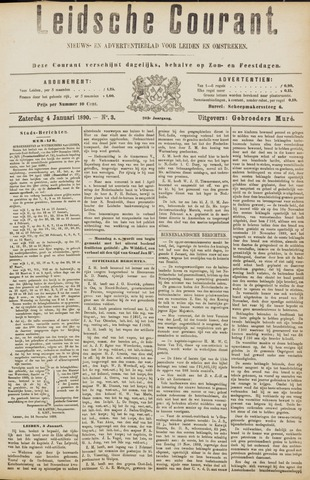 Leydse Courant 1890-01-04