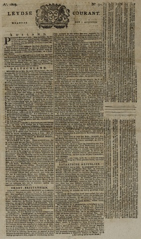 Leydse Courant 1803-08-01