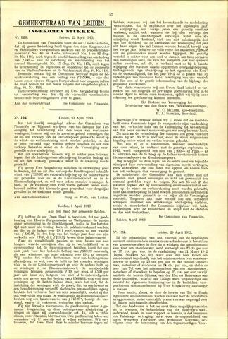 Handelingen van de Raad 1913-04-22