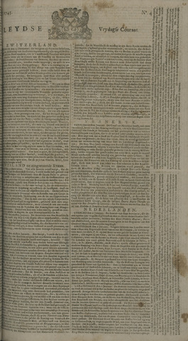 Leydse Courant 1745-01-08