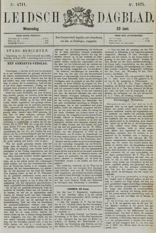 Leidsch Dagblad 1875-06-23