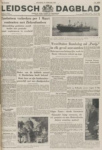 Leidsch Dagblad 1955-02-21