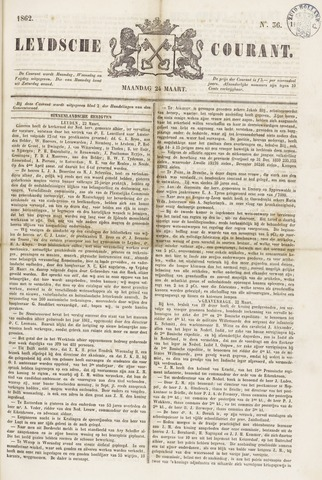 Leydse Courant 1862-03-24