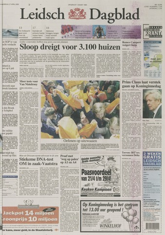Leidsch Dagblad 2000-04-27