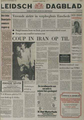 Leidsch Dagblad 1980-09-25