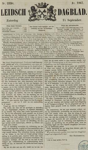 Leidsch Dagblad 1867-09-14