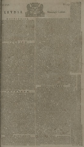 Leydse Courant 1740-11-14