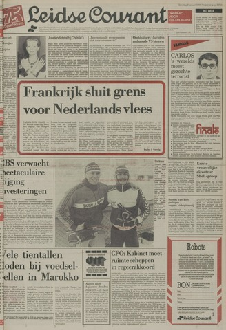 Leidse Courant 1984-01-21