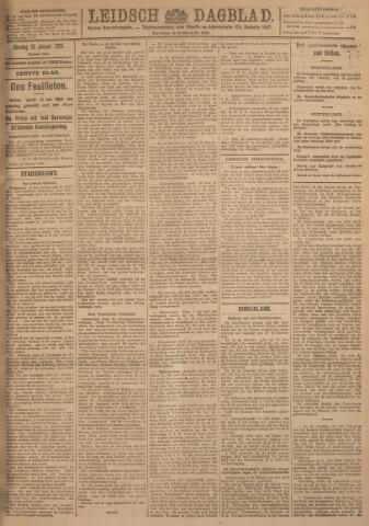 Leidsch Dagblad 1923-01-16