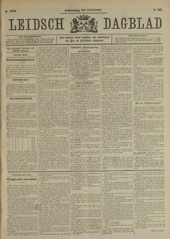 Leidsch Dagblad 1911-10-10
