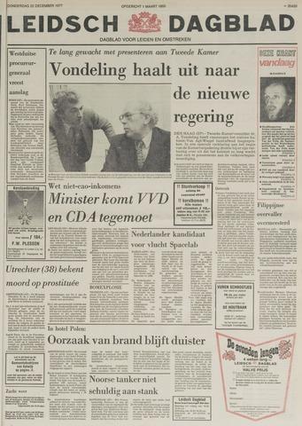 Leidsch Dagblad 1977-12-22