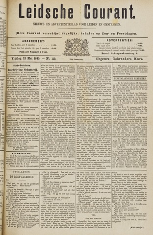 Leydse Courant 1885-05-22