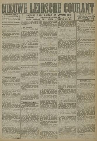 Nieuwe Leidsche Courant 1921-10-05