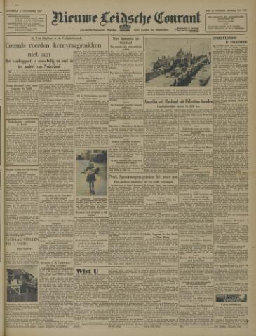 Nieuwe Leidsche Courant 1947-11-01