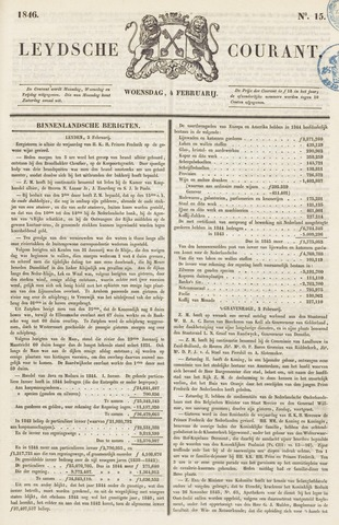 Leydse Courant 1846-02-04