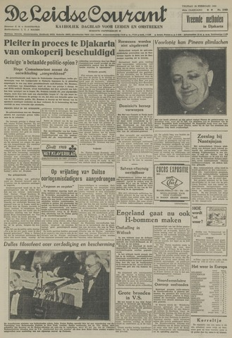 Leidse Courant 1955-02-18