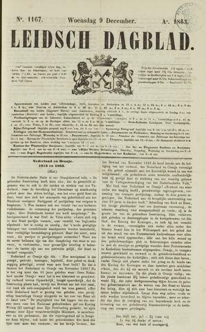 Leidsch Dagblad 1863-12-09