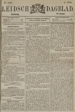 Leidsch Dagblad 1876-01-20