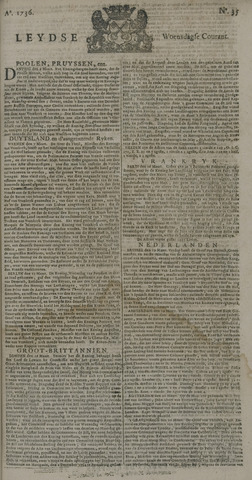 Leydse Courant 1736-03-21