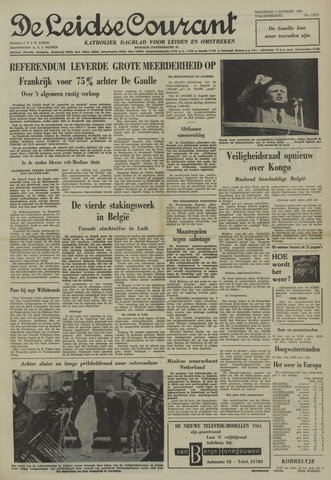 Leidse Courant 1961-01-09
