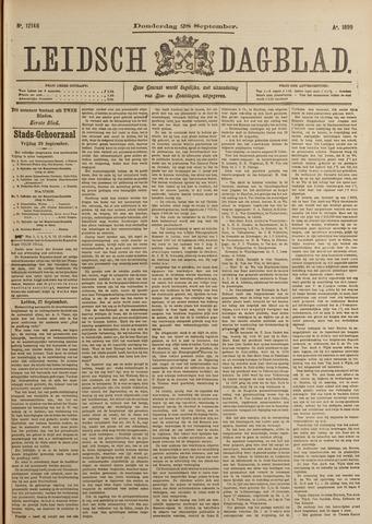 Leidsch Dagblad 1899-09-28