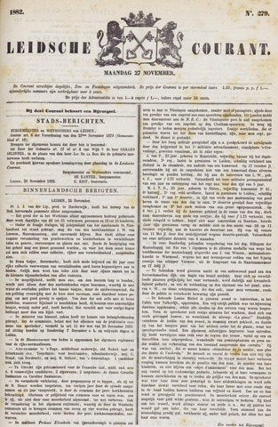 Leydse Courant 1882-11-27