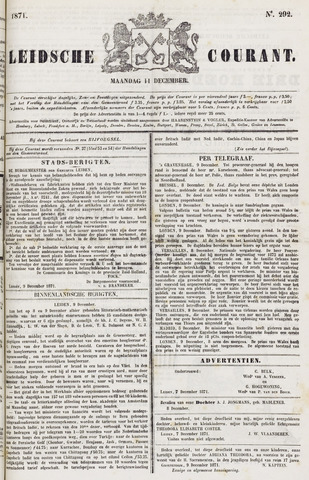 Leydse Courant 1871-12-11