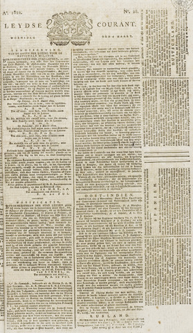 Leydse Courant 1822-03-06