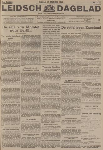Leidsch Dagblad 1940-11-12