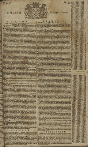 Leydse Courant 1756-08-13
