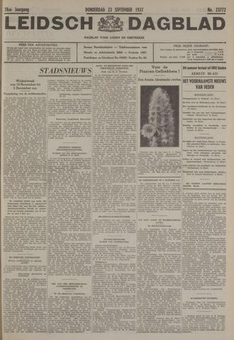Leidsch Dagblad 1937-09-23