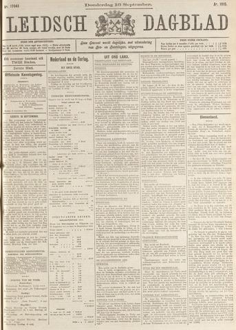 Leidsch Dagblad 1915-09-16
