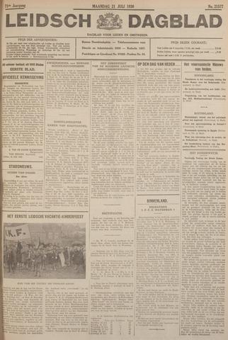 Leidsch Dagblad 1930-07-21