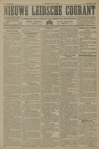 Nieuwe Leidsche Courant 1927-07-08