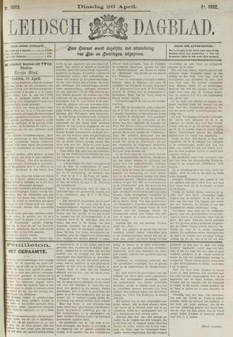 Leidsch Dagblad 1892-04-26