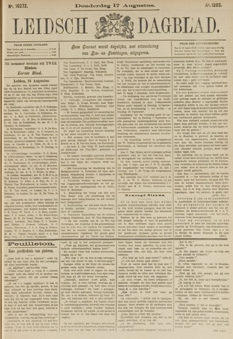 Leidsch Dagblad 1893-08-17
