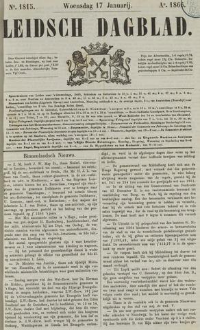 Leidsch Dagblad 1866-01-17