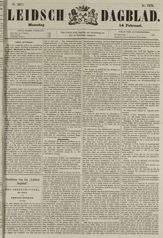 Leidsch Dagblad 1870-02-14