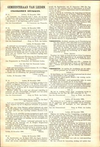 Handelingen van de Raad 1900-12-15