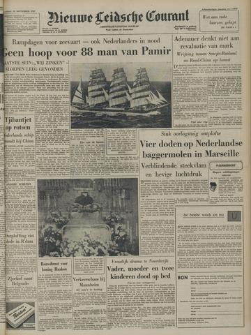 Nieuwe Leidsche Courant 1957-09-23