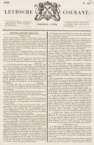 Leydse Courant 1850-06-05