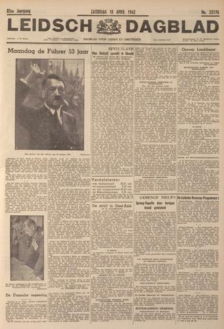 Leidsch Dagblad 1942-04-18