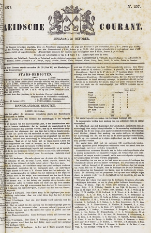 Leydse Courant 1871-10-31