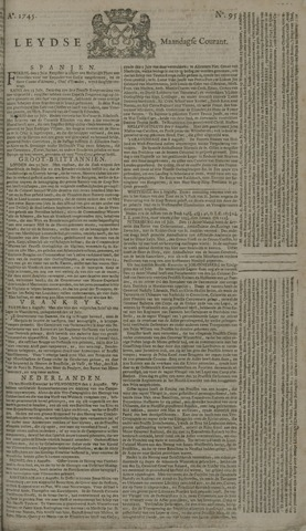 Leydse Courant 1745-08-09